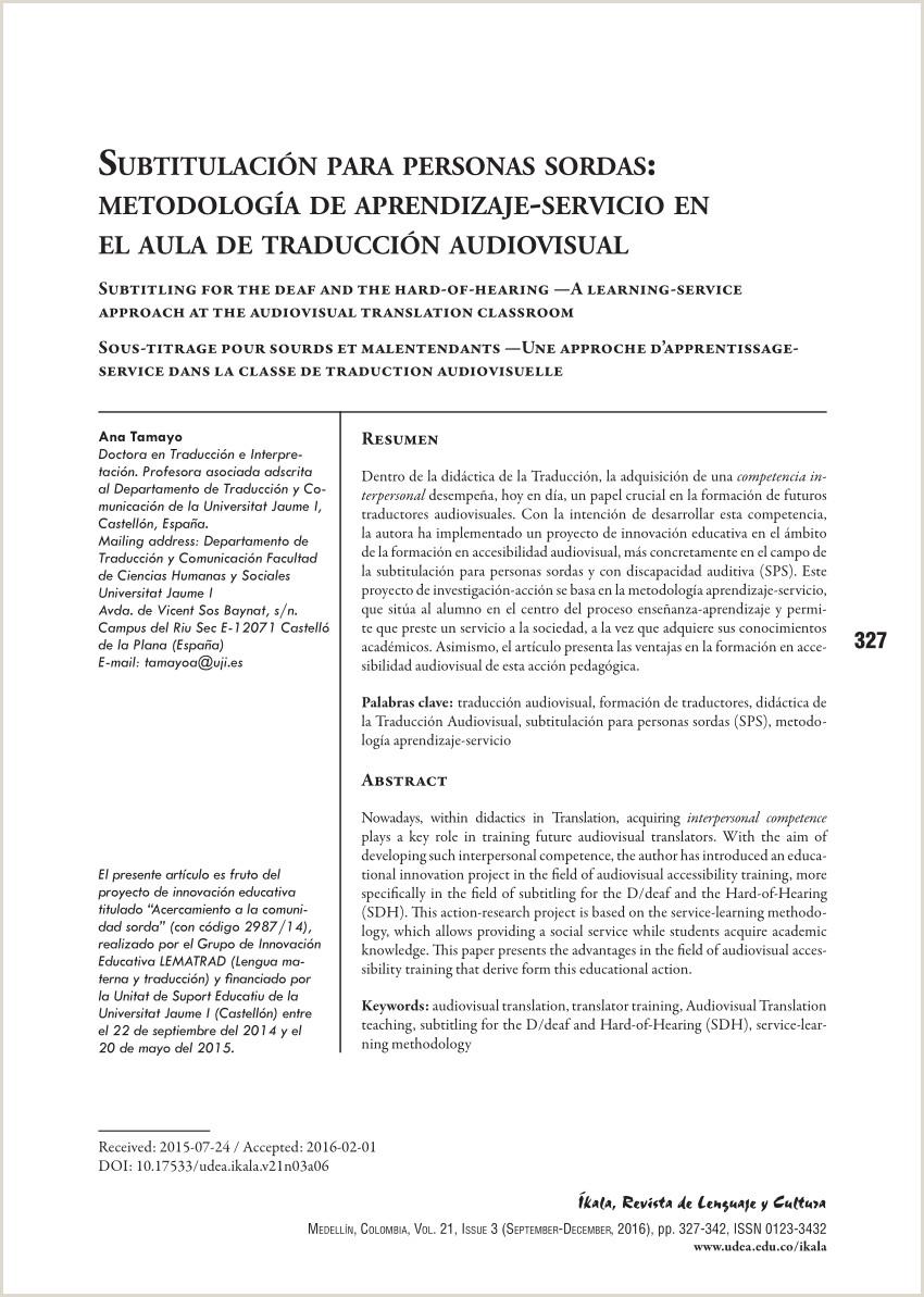 PDF Subtitulaci³n para personas sordas metodologa de