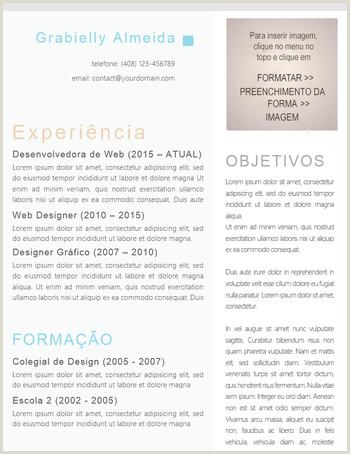 Curriculo Simples Para Preencher Word 📋 Modelos De Currculo Gratuitos No formato Word 📋