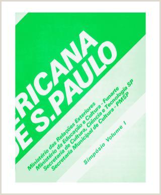Livro Simp³sio v 1 bienal latino americana Bienal de S£o