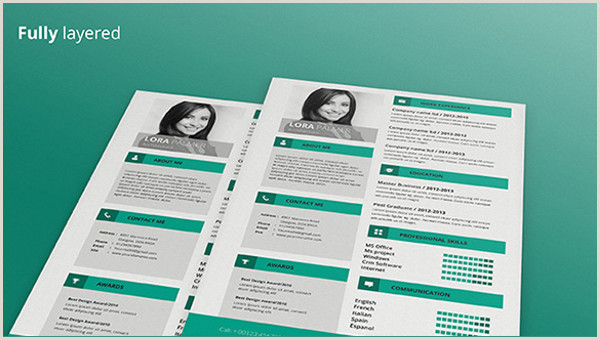 68 CV Templates PDF DOC PSD AI