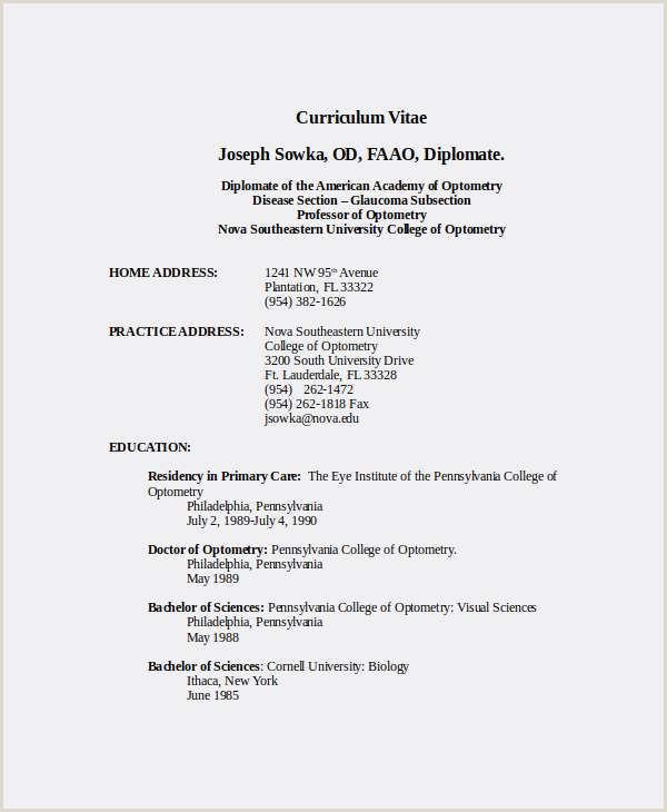 Exemple De Cv Simple Pdf Frais Cv Modele Simple Imprimable