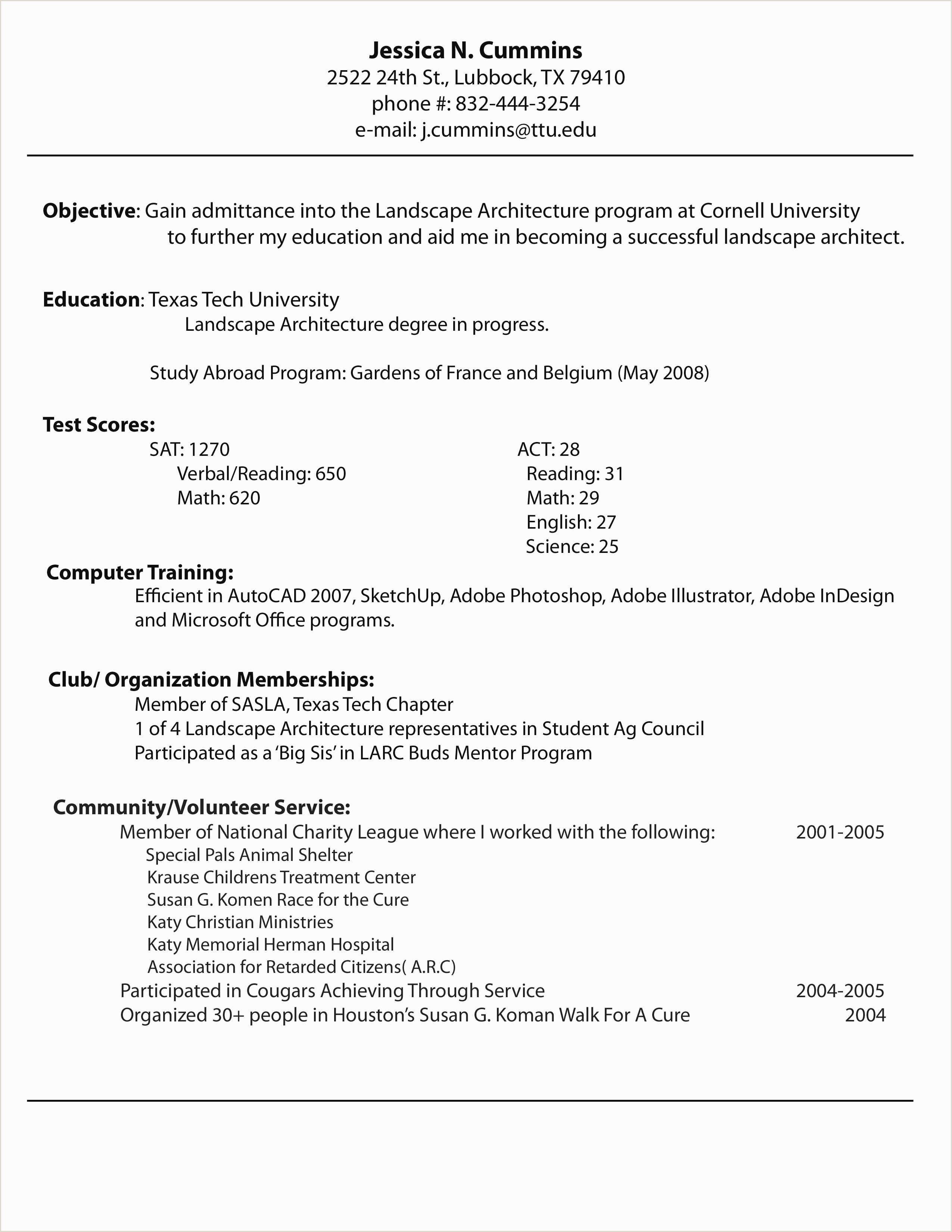 Luxury Curriculum Vitae Versus Resume