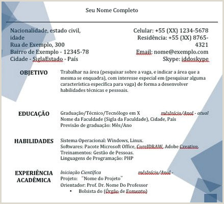 Curriculo Simples Primeiro Emprego Pronto Curriculum Para Primeiro Emprego Avaré Guia Avaré Guia