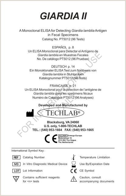 GIARDIA II TechLab