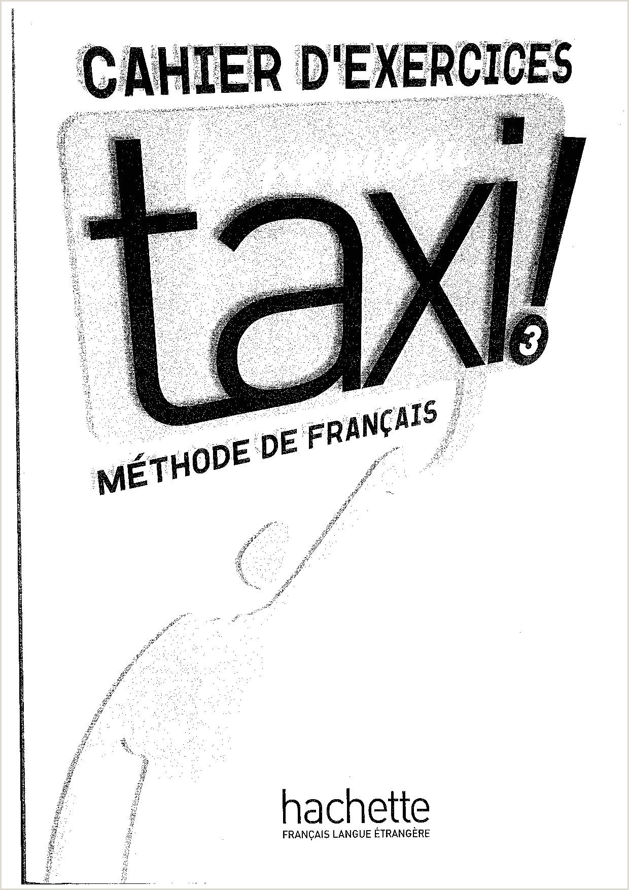 Le noveau TAXI frances exercicios Le noveau TAXI frances