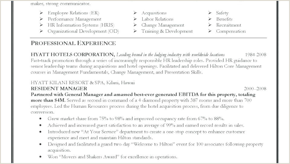 Resume Curriculum Vitae Format Model A Luxurious And