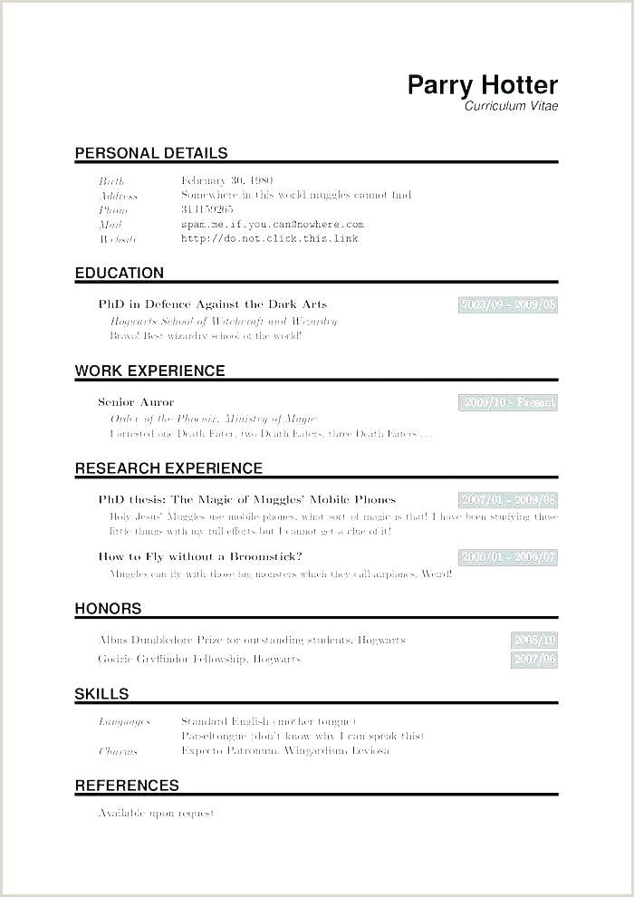 Student Latex Resume Free Download Cv Template Academic Phd