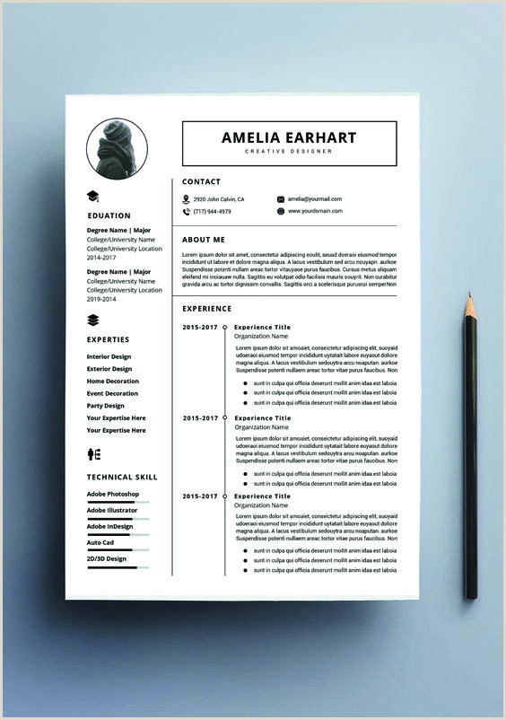 Resume template instant Professional resume