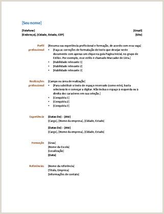 Curriculos Criativos Simples 70 Professionnel Modelos De Cv