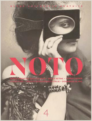 NOTO 4 Hiver 2016 by NOTO REVUE issuu