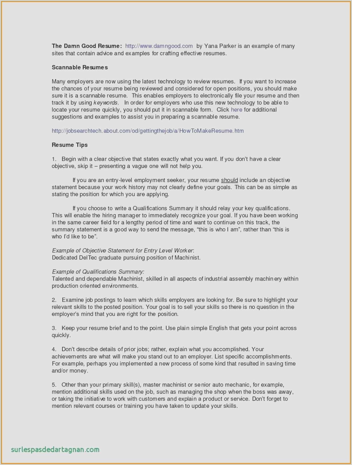 10 Example Resume For Warehouse Position