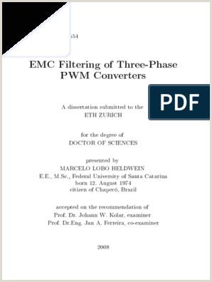 Emc Filtering of Three phase Pwm Converters 2008[Heldwein
