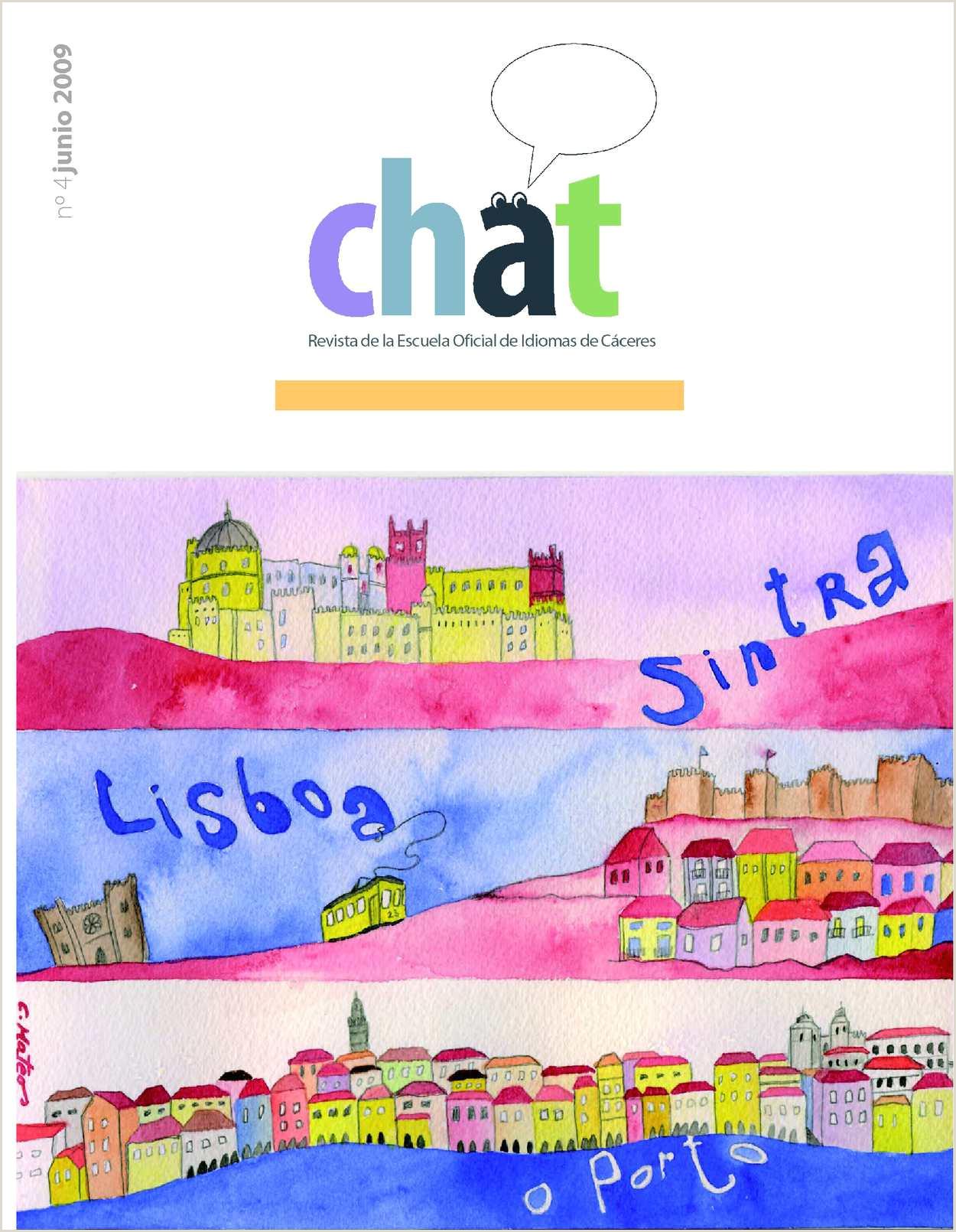 Calaméo Revista Chat Escuela icial de Idiomas Nºmero 4