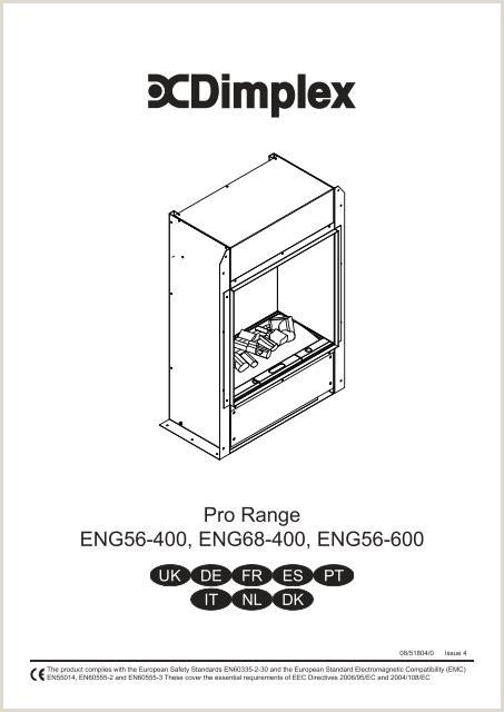 Pro Range ENG56 400 ENG68 400 ENG56 600 Dimplex