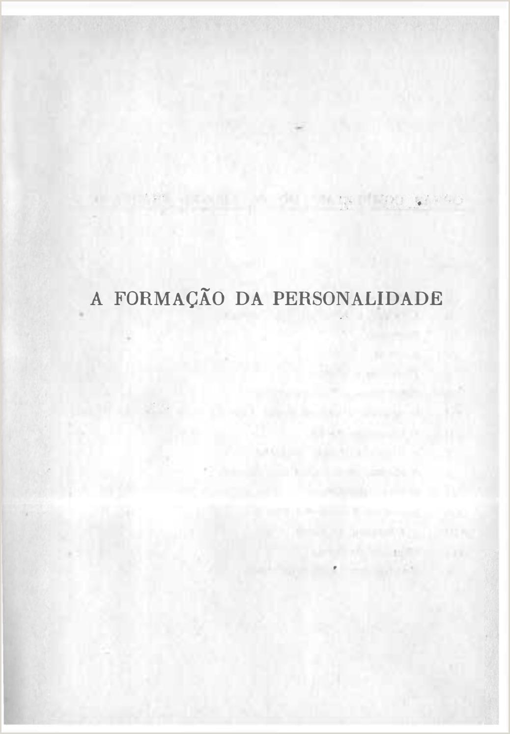 Curriculum Simples Para Imprimir E Preencher A forma§£o Da Personalidade Pe Leonel Franca by Lucas
