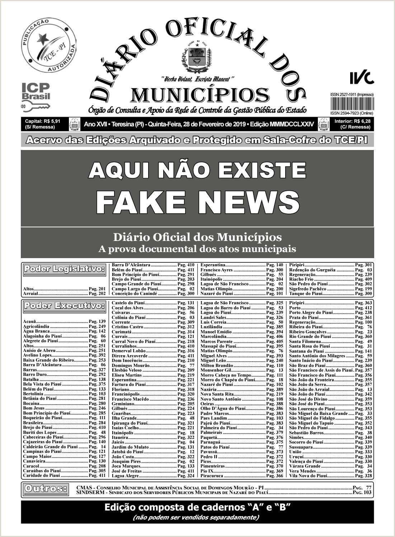 Edi§£o 3774 by Diário icial dos Municpios issuu