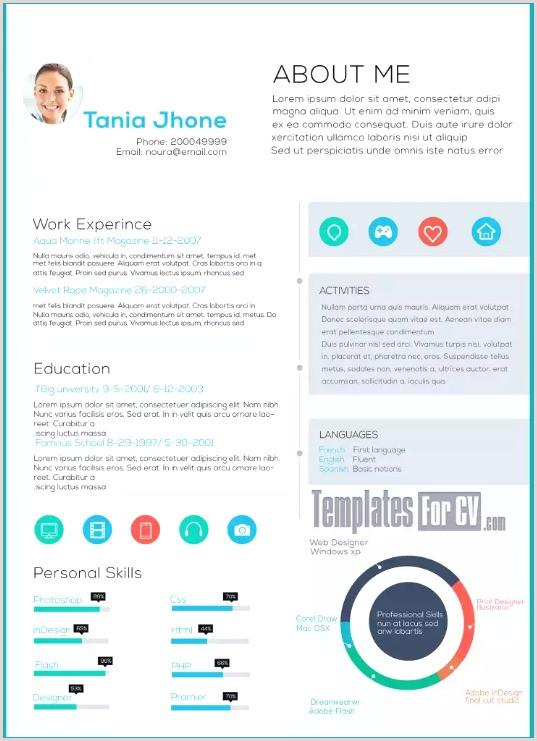Curriculum Simples Vitae Download Modele Cv Arabe Word