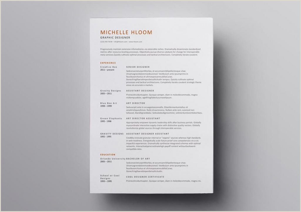 Curriculum Simples Vitae Download Open Fice Resume Template Simple Modern Templates Free