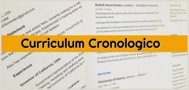 ▷ Curriculum vitae plantilla word