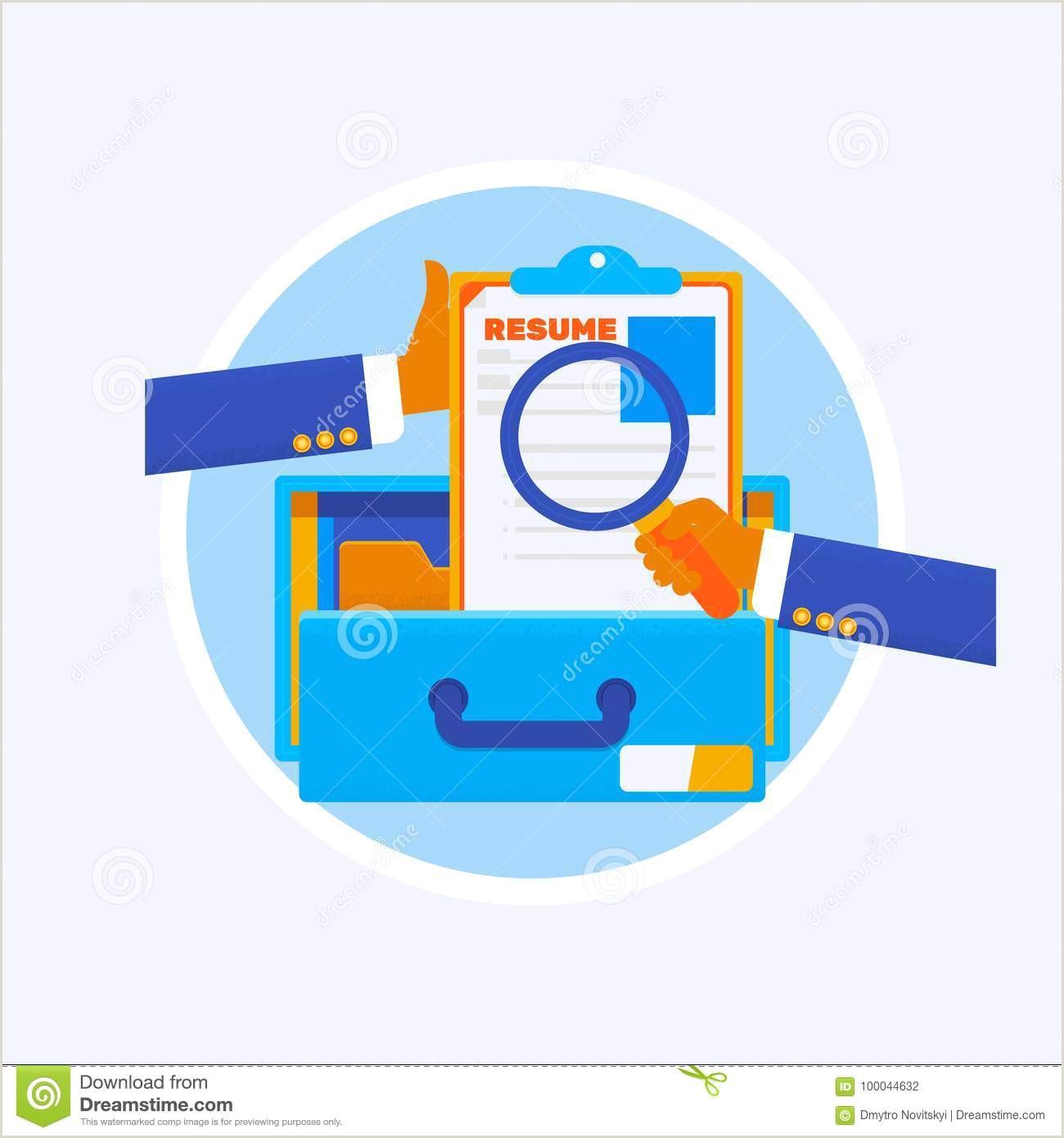 Curriculum Vitae Creativo Para Rellenar Gratis Curriculum Vitae O Uso Ilustraci³n Del Vector Ilustraci³n