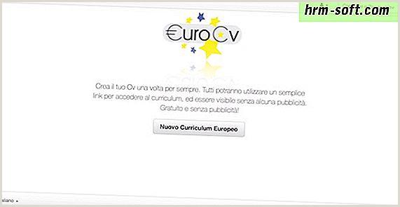 C³mo descargar un currculum vitae europeo hrm soft