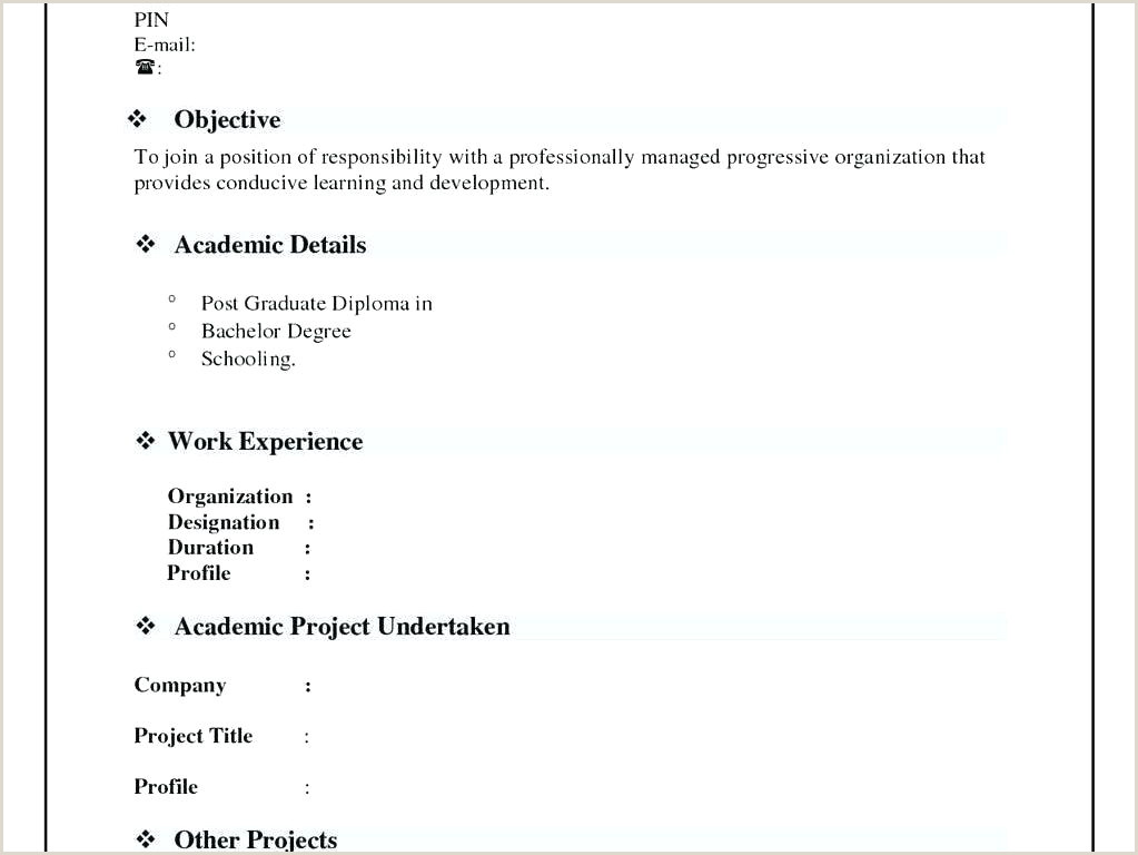 Curriculum Vitae Format Download In Ms Word For Fresher Downloadable Resume Formats Best Format Download In Ms Word