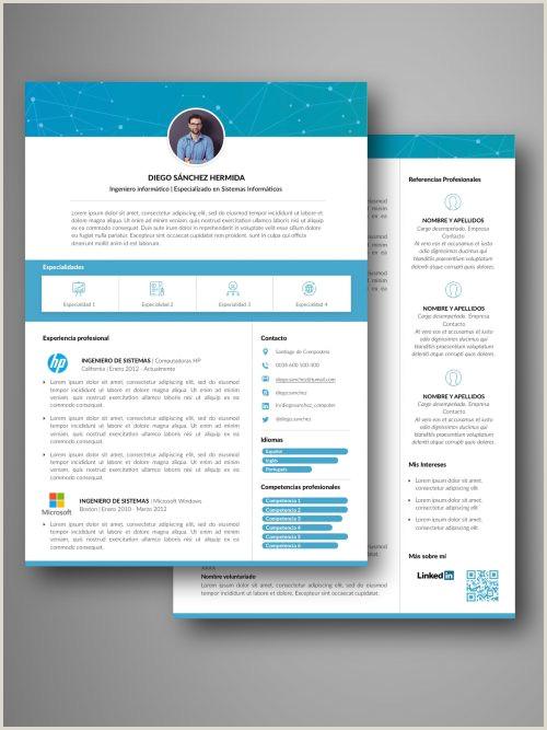 Curriculum Vitae formato Para Llenar Online Plantillas Curriculum
