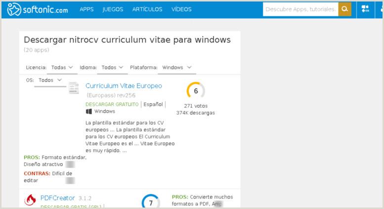 Curriculum Vitae formato Word Para Rellenar Gratis En Español Curriculum Vitae Europeo App