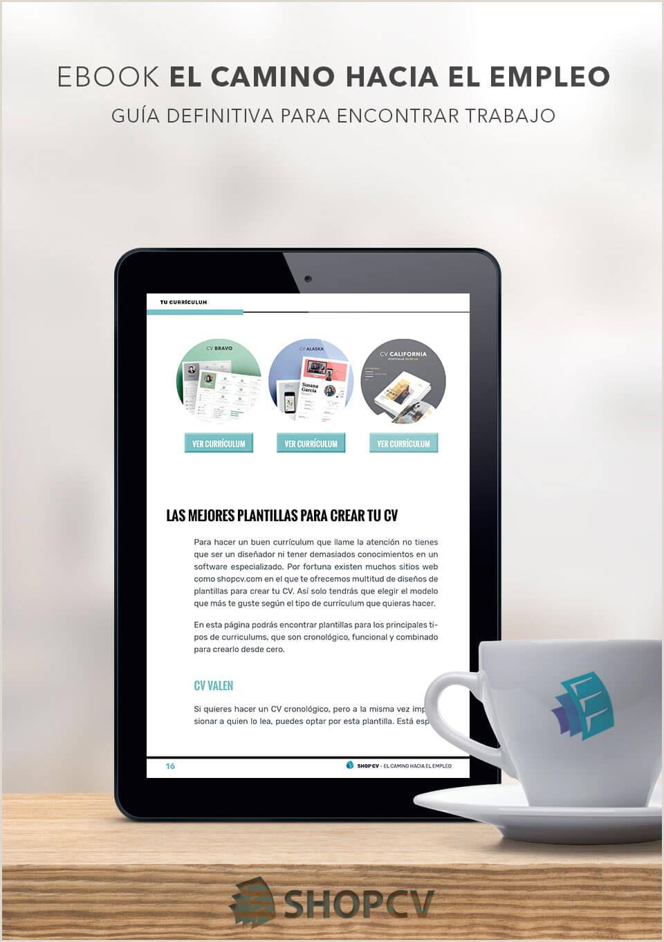Curriculum Vitae formato Word Para Rellenar Gratis Online Shopcv