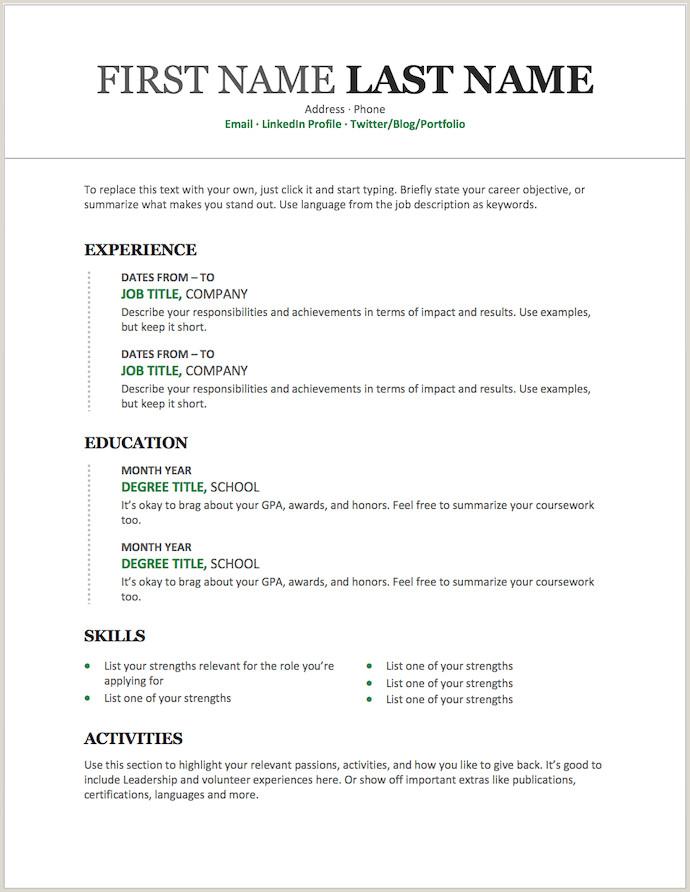 Curriculum Vitae formato Word Para Rellenar Gratis Sencillo 11 Plantillas De Currculum Gratuitas Que Puedes