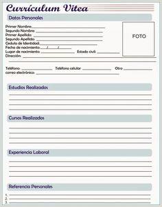 Curriculum Vitae formato Word Para Rellenar Gratis Sin Experiencia Laboral Las 9 Mejores Imágenes De Plantillas De Curriculum Vitae