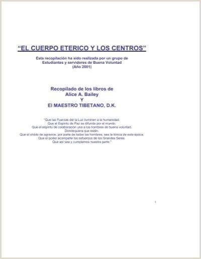 """Curriculum Vitae Para Imprimir Y Llenar A Mano El Cuerpo Eterico Y Los Centros"""" Internet Arcano"""