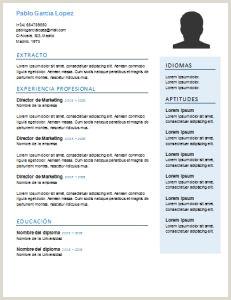 Curriculum Vitae Para Imprimir Y Llenar A Mano Las 8 Mejores Imágenes De Plantillas Y Modelos De Curriculum