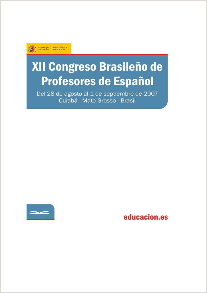 XII Congreso Brasile±o de Profesores de Espa±ol