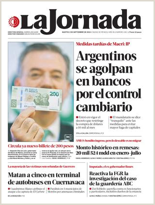 Curriculum Vitae Para Rellenar Argentina La Jornada 09 03 2019 by La Jornada issuu