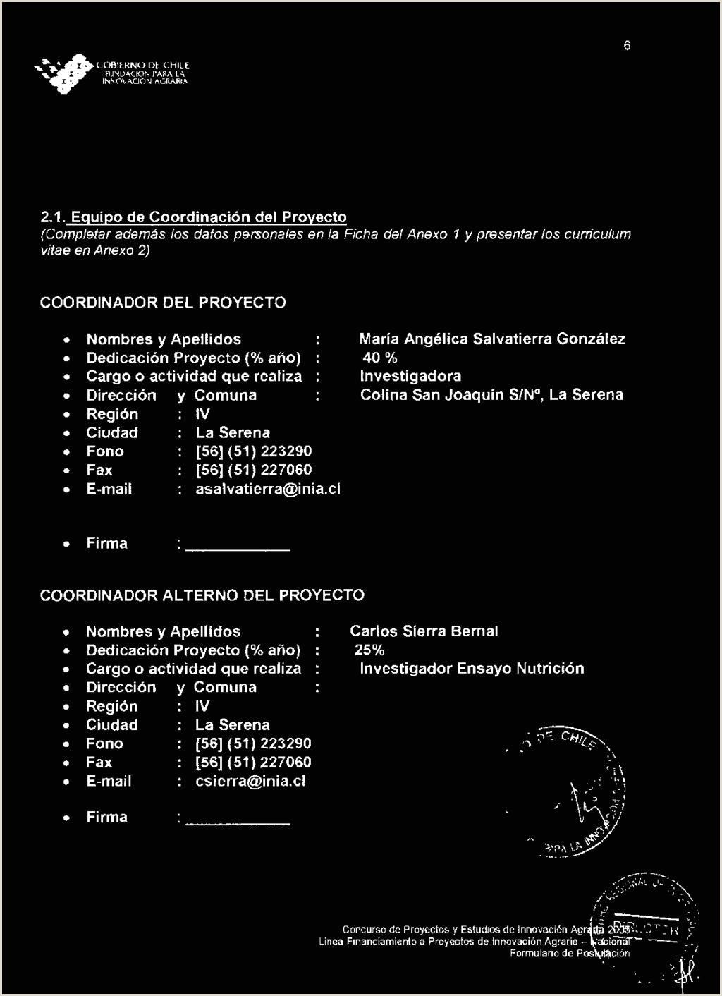 """SECCI""""N 1 ANTECEDENTES GENERALES DEL PROYECTO PDF"""