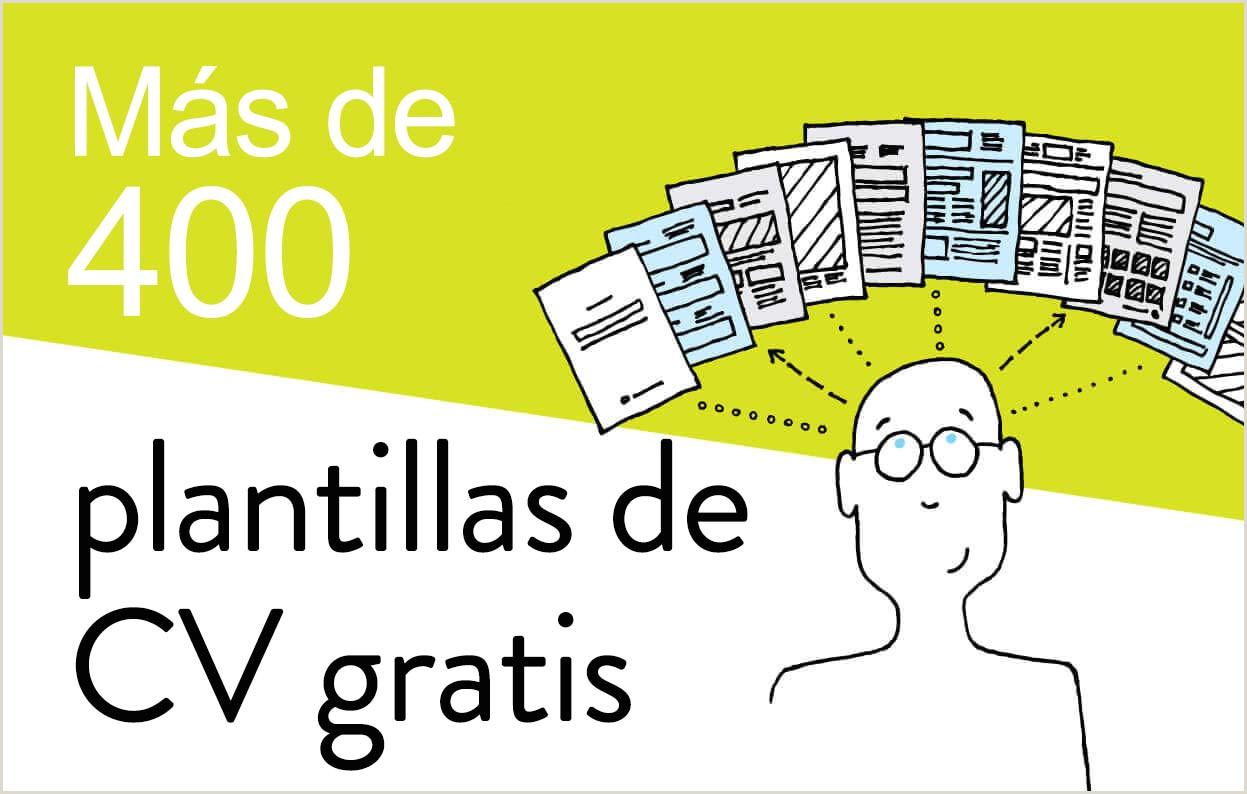 Curriculum Vitae Para Rellenar E Imprimir Gratis Más De 400 Plantillas De Cv Y Cartas De Presentaci³n Gratis