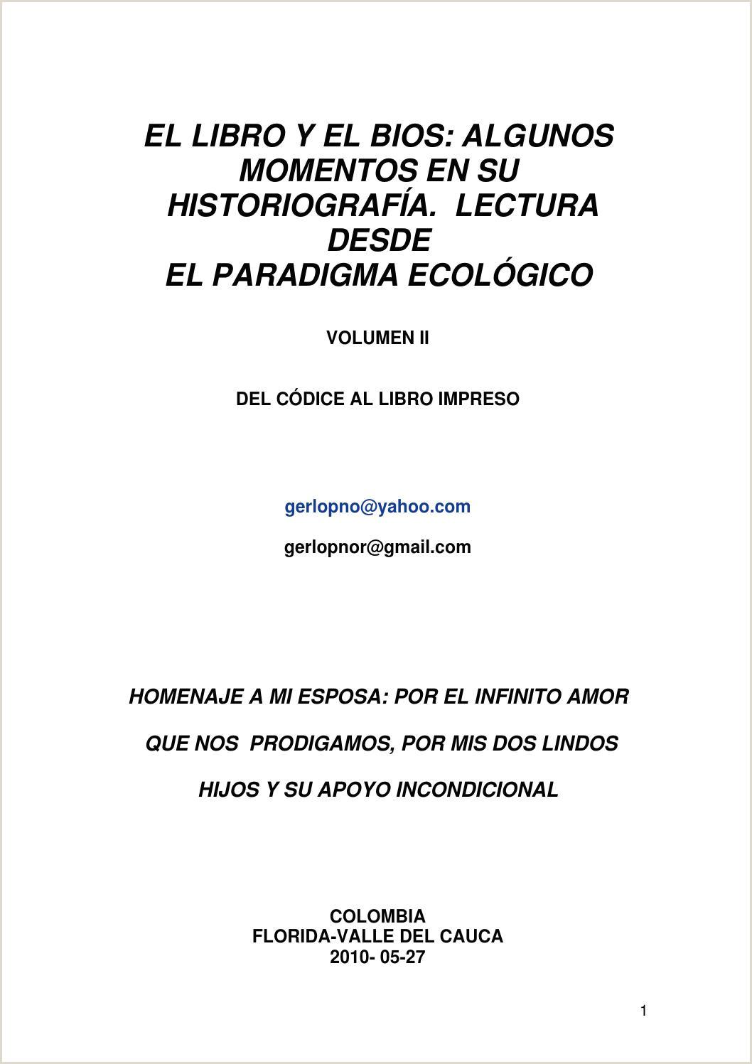 El libro y el Bios Algunos momentos en su historiografa