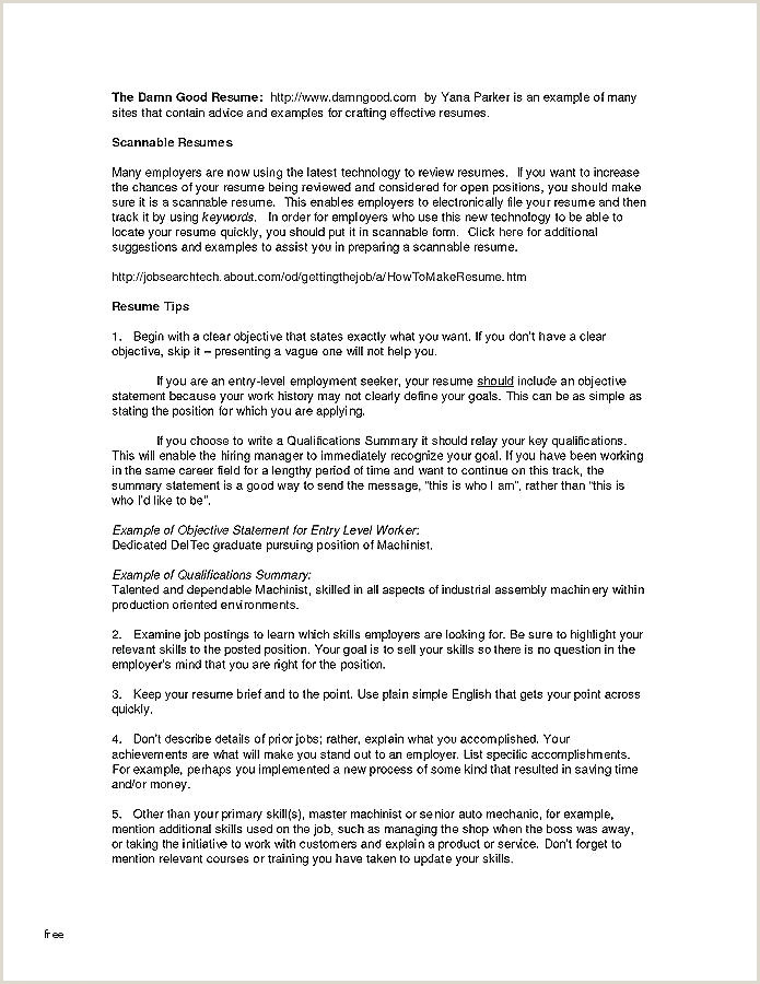 1 Page Resume Templates ly e Template Word Free Two