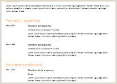 Curriculum Vitae Para Rellenar Pdf Gratis Modelo De Curriculum Vitae Arşivleri Page 43 Of 70