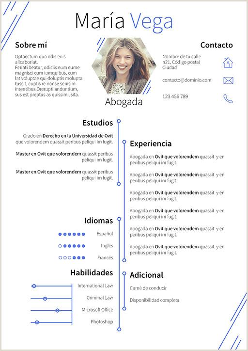 Curriculum Vitae Para Rellenar Y Descargar Gratis Currculum Vitae Modelo Hexa