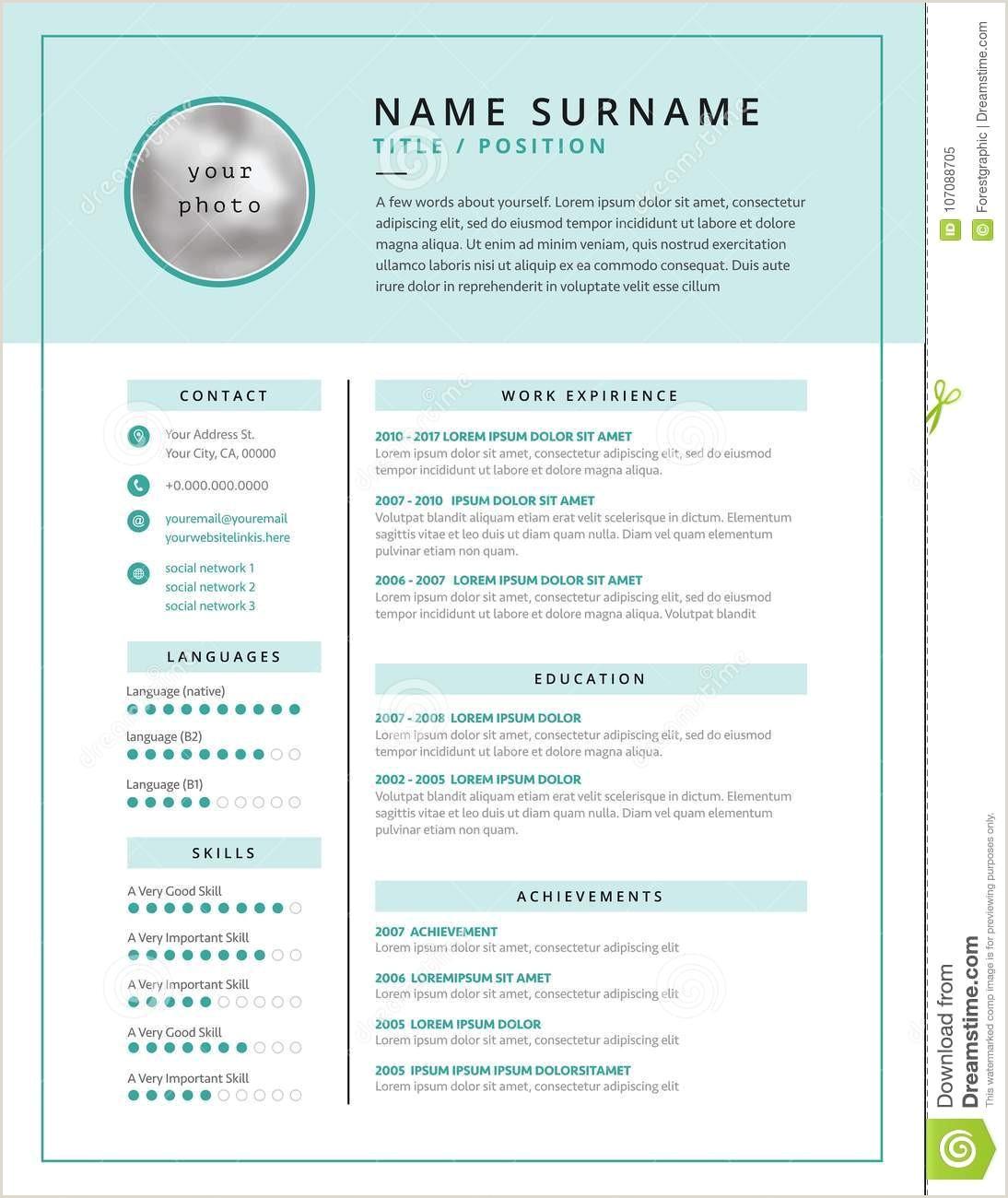 Curriculum Vitae Para Trabajo Para Rellenar Cualificaciones Curriculum Vitae Ejemplos