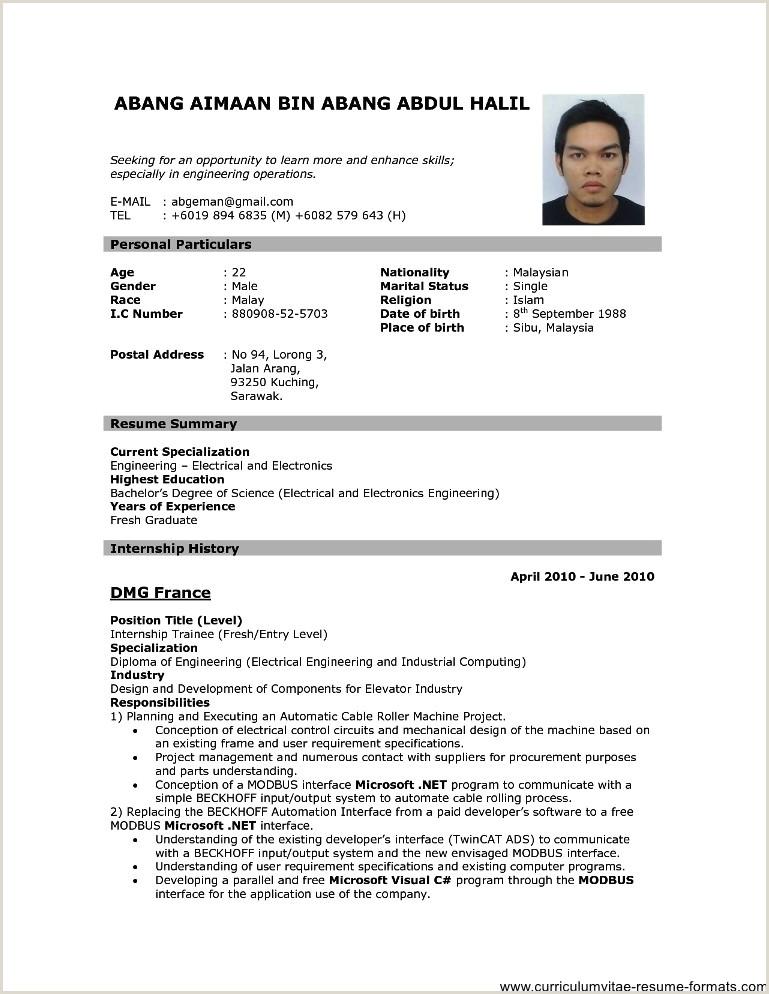 Curriculum Vitae Pdf Para Llenar Gratis Curriculum Vitae format Pdf – Guatemalago
