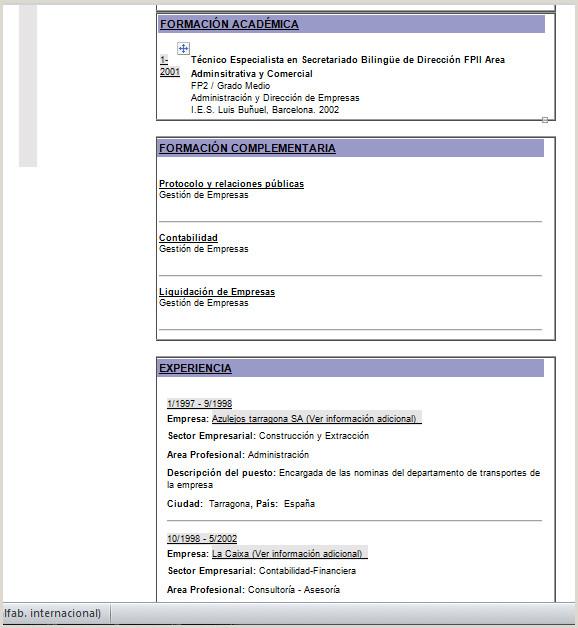 Curriculum Vitae Plantilla Para Rellenar Word formato Resume Moderno Plantilla De Editable 23