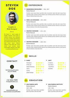 7 meilleures images du tableau CV Design Design Resume