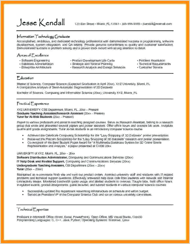 Curriculum Vitae Format In Word Resume Template plete