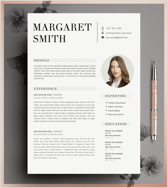 Teacher Resume Resume Template 2 Page Resume CV Template