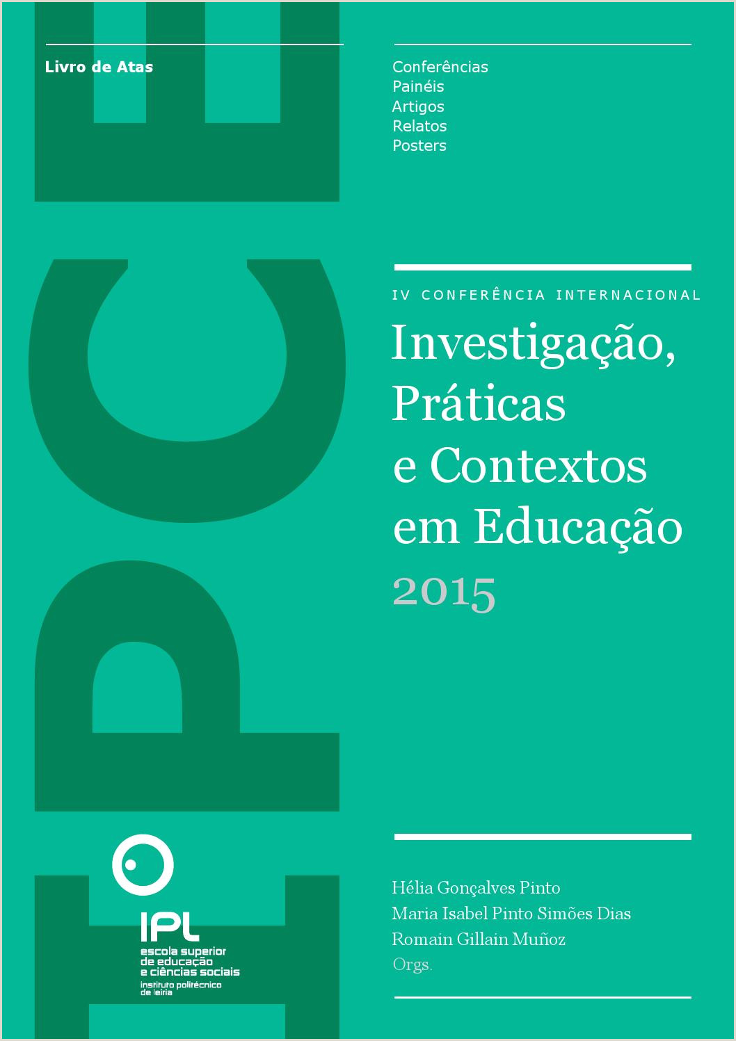 IV IPCE 2015 by Leonel Brites issuu