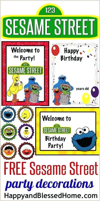 Sesame Street Sign Printable Free Sesame Street Birthday