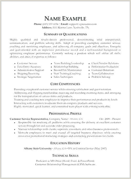 Resume Objective For Customer Service Best Objectives